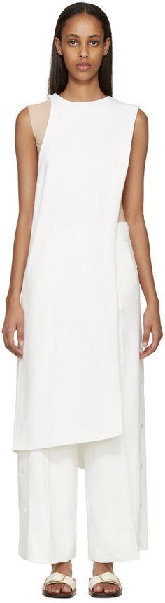 ACNE STUDIOS White Long Glenna Tank Top.  acnestudios  cloth  top Minimal  Chic f5268958224