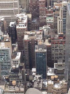 On top of the rock! rockafella New York