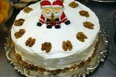 Receita de torta de nozes