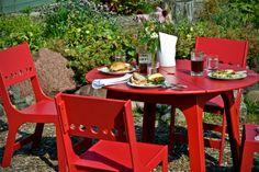 Alfresco Dining Set - Cafe Outdoor Patio and Garden