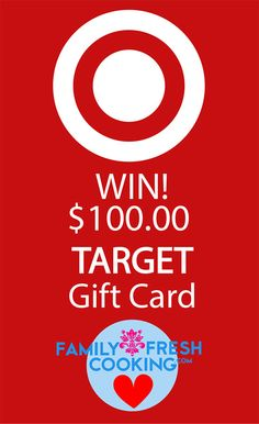 Win a $100 TARGET Gift Card! | FamilyFreshCooking.com