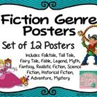 Includes: Realistic Fiction, Science Fiction, Historical Fiction, Fantasy, Adventure, Mystery, Folktale, Tall Tale, Fairy Tale, Legend, Myth, Fable...