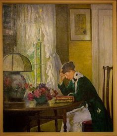 Edmund Charles Tarbell - an american Impressionist