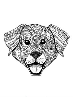 Daniel De Sosa Is Raising Funds For Doggy Dreamers Relaxing Art Therapy Dog Adult Coloring Book On Kickstarter A Full Of Super Cool