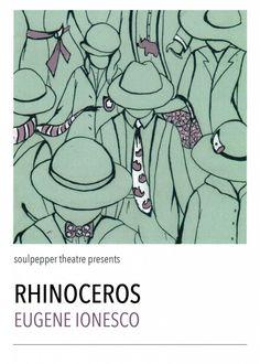 El rinoceronte eugene ionesco