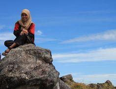 Malino di Malino, Sulawesi Selatan : puncak gunung bawakaraeng