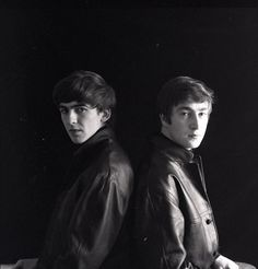 George and John - I believe this is one of Astrid's photos