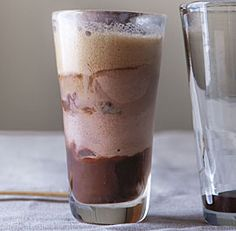 Stout Floats--Why should soda have all the fun? In this float, the roasty flavors of stout are the perfect complement to the rich Kahlúa, chocolate ice cream, and homemade cocoa syrup. Via FineCooking