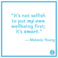 Agreed! Definitely have been putting my wellbeing on the back-burner for YEARS...it's time for a new me.