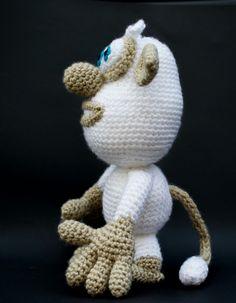Booba amigurumi. Crochet.
