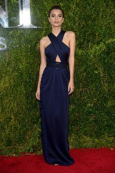 Tony Awards 2015: Emily Ratajkowski in Marc Jacobs