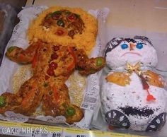 Holiday cake fails