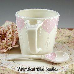 Whimsical Bliss Studios - For The Love of Tea Mug