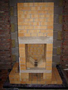 Tegelkachel/Masonry Heater/PDM/...: 2009 Diy Heater, Stove Heater, Stove Oven, Stove Fireplace, Diy Fireplace, Fireplaces, Bbq Firebox, Bbq Wood, Rocket Mass Heater