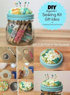 38 New Ideas For Sewing Projects Diy Pin Cushions 38 New Ideas For Sewing Projects Diy Pin Cushions Pot Mason Diy, Mason Jar Crafts, Mason Jars, Sewing For Beginners Diy, Diy Cushion, Diy Pins, Diy Craft Projects, Sewing Crafts, Sewing Diy