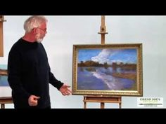 Pastel Techniques with Paul deMarrais - Painting Realistic Water - YouTube