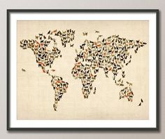 Hey, I found this really awesome Etsy listing at http://www.etsy.com/listing/92441600/cats-map-of-the-world-map-art-print
