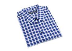 Givenchy Men's Blue & White Plaid Button Down Shirt