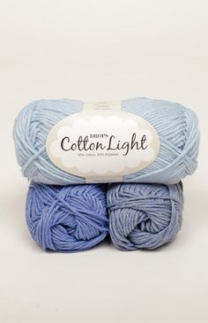 A cool cotton yarn for summer!