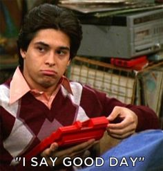 """I say good day"" - Fez from That '70s Show"