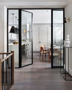 The family kitchen at Orford House Chelsea for info call Banda or - Paint Your House, Family Kitchen, Home Photo, Inspired Homes, My House, Town House, Kitchen Design, Design Inspiration, Interior Design