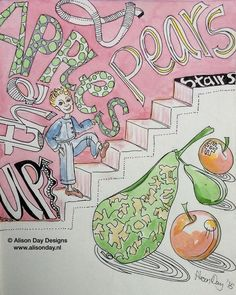 Fruit Stairs by Alison Day