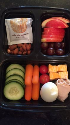 Protein box diy healthy meal prep in 2019 ланч бокс, ланч, Lunch Meal Prep, Healthy Meal Prep, Healthy Snacks, Healthy Eating, Healthy Lunch Boxes, Healthy Work Lunches, High Protein Snacks On The Go, Healthy Recipes For Kids, Paleo Lunch Box