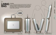 Living Bag by maxence couthier, via Behance