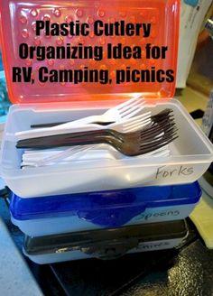 29 DIY RV Camping Hacks Organization And Storage Solutions
