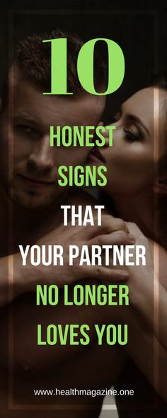 10 HONEST SIGNS Indicating That Your Partner No Longer Loves You - Health Magazine