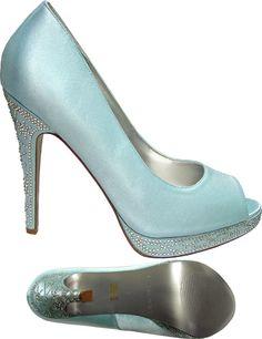 Martinez Valero Ozzie Blue Tiffany Heals... delicious!