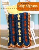 A Year of Baby Afghans Book 5 eBook
