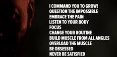 CT Fletcher's 10 Commandments