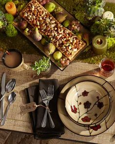 This Thanksgiving, set a holiday table that you love. We've got table setting and decor ideas for rustic, traditional and modern tables. From classic autumn hues to a clean modern design that mixes white plates with gold glimmers, these tables are quick, easy and classic. Get supplies for the perfect dinner table decor at Walmart.