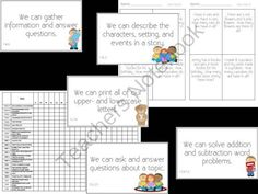 1st Grade Common Core Packet from Whos On First on TeachersNotebook.com -  (60 pages)  - The product includes:  ~A classroom chart for each Common Core Area to identify completion of the standards.  ~Goals based on the Common Core standards to be displayed in the classroom.  ~16 mini math worksheets that are aligned to the Common Core standar