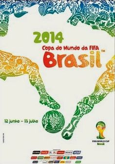 Brasil e Croácia para abrir a Copa do Mundo 2014