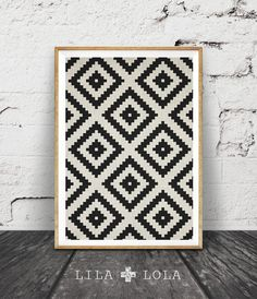 Aztec Pattern Print, Black and White Print, South Western Wall Art, Printable Art, Mexican, Tribal, Aztec Poster, Black White Geometric by lilandlola on Etsy https://www.etsy.com/listing/243913857/aztec-pattern-print-black-and-white