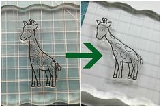 You can bend acrylic stamps ;)