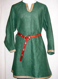 Viking, Medieval Linen Tunic, SCA Historical