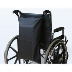 Wheelchair Footrest / Leg Rest Bag In Navy  Features: -Fits all footrests. -Easily hangs off #wheelchair. -Covered in durable, wipe-clean vinyl. -Wipe clean. -Universal sizing. Country of Manufacture: -United States. Product Type: -Bag or basket. For Use With: -Wheelchair. -Color: Navy.