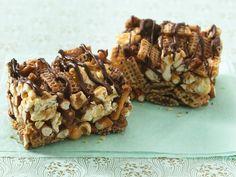 Chocolate Chex® Caramel Corn Bars