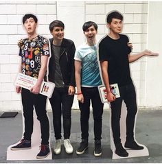 They're so tall
