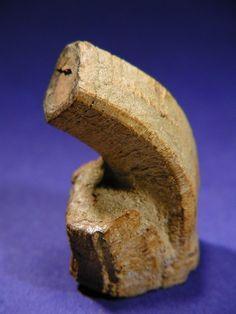 Goethite psm after pyrrhotite, with strong tectonic deformation; Blatten, Lötschental, Wallis, Switzerland, Aletsch