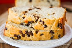 This easy and delicious chocolate chip loaf bread recipe is a wonderfully sweet way to start your day. Loaf Recipes, Bread Machine Recipes, Quick Bread Recipes, Buttermilk Recipes, Muffin Recipes, Sweet Recipes, Cake Recipes, Cooking Recipes, Healthy Recipes