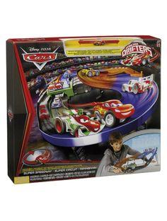 Autot 2 moottoroitu kilparata on Micro Drifters -autojen paras kilpailupaikka! Autot voi laukaista radalle varikoilta, ja niitä mahtuu radalle useampia. Pakkaus sisältää yhden Micro Drifters -auton.  Paristot (3 C / LR14) eivät sisälly pakkaukseen. Pinball, Pixar, Lunch Box, Pixar Characters, Bento Box