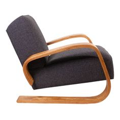 Pre-War Tank Chair by Alvar Aalto | From a unique collection of antique and modern lounge chairs at https://www.1stdibs.com/furniture/seating/lounge-chairs/