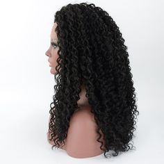 Find More Synthetic Wigs Information about Synthetic Hair Long Black Curly Realistic Wig Heat Resistant Best Quality Soft Synthetic Lace Front Wig For Black Women,High Quality lace front hair piece,China wig bang Suppliers, Cheap lace front wigs african american women from Wig Artisan on Aliexpress.com