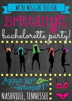 colourful bachelorette party ideas - Buscar con Google