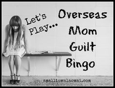 All momsstruggle with mom guilt, but I think living overseas adds an extra layer of struggle. We get all the normal worries plus fun bonus ones like tropical diseases and second languages. We beat…
