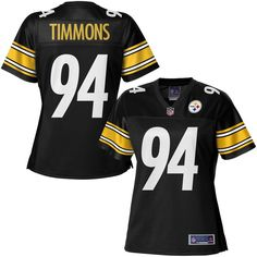 623ebbfd7 NFL Pro Line Women s Pittsburgh Steelers Lawrence Timmons Team Color Jersey  Steelers Gear